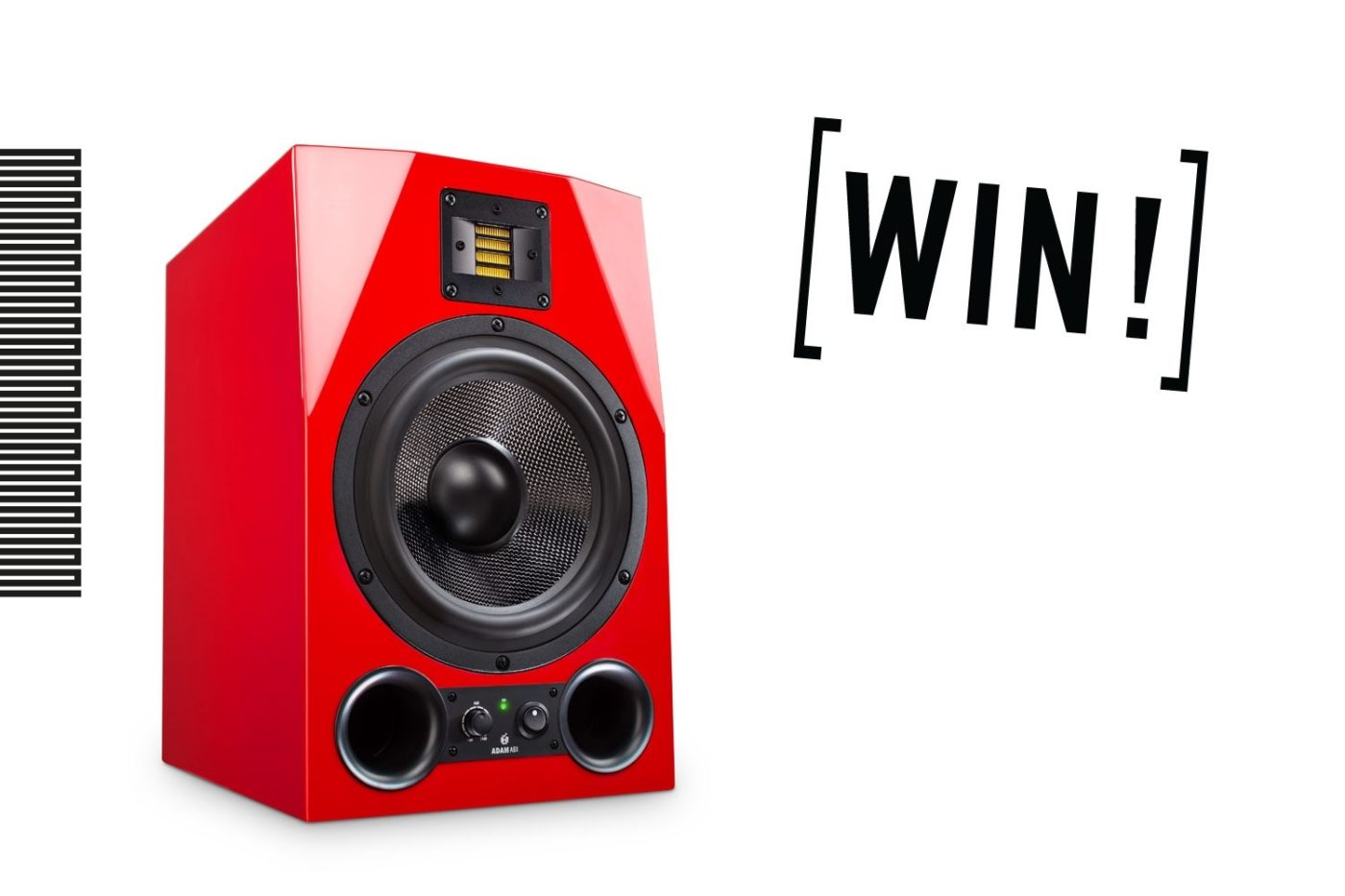 adam audio win adam a8x monitors in our soundtrack competition. Black Bedroom Furniture Sets. Home Design Ideas