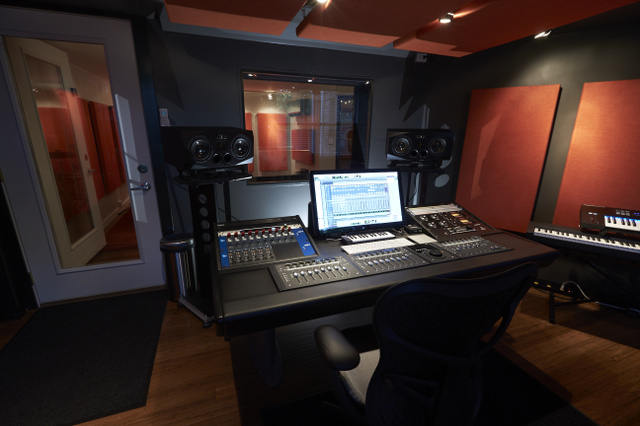 ADAM A77X monitors at The Facility Nashville