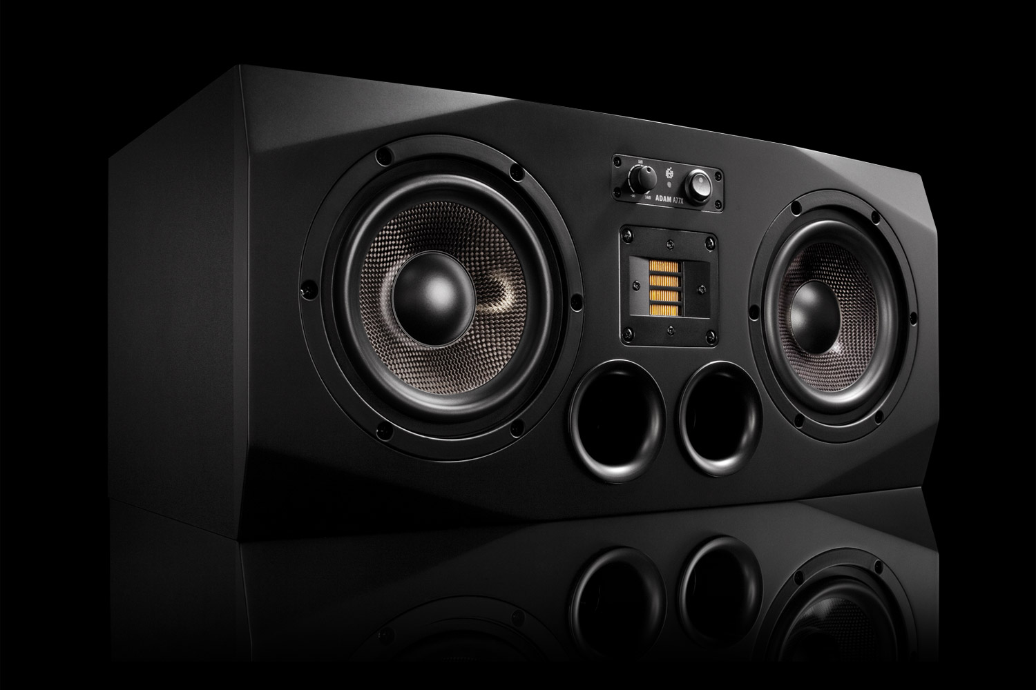 adam audio a77x active studio monitor near midfield. Black Bedroom Furniture Sets. Home Design Ideas