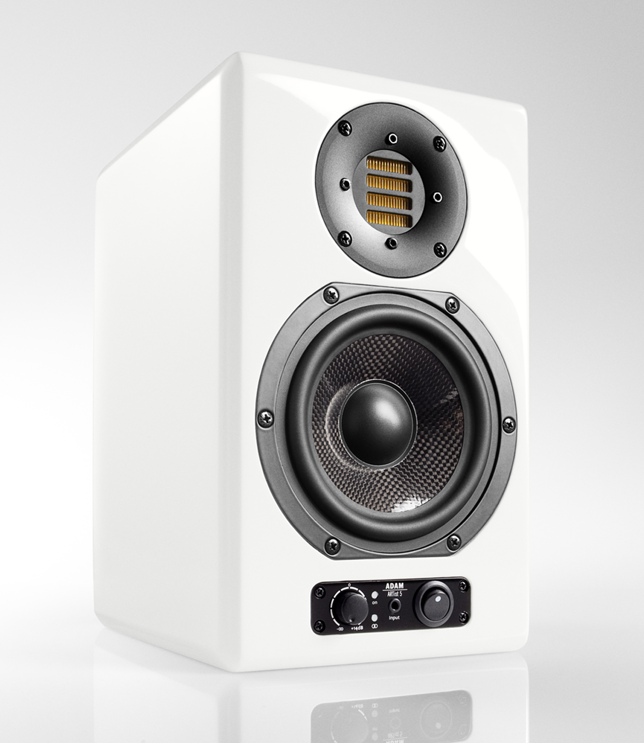 adam audio artist 5 active multimedia speaker nearfield. Black Bedroom Furniture Sets. Home Design Ideas