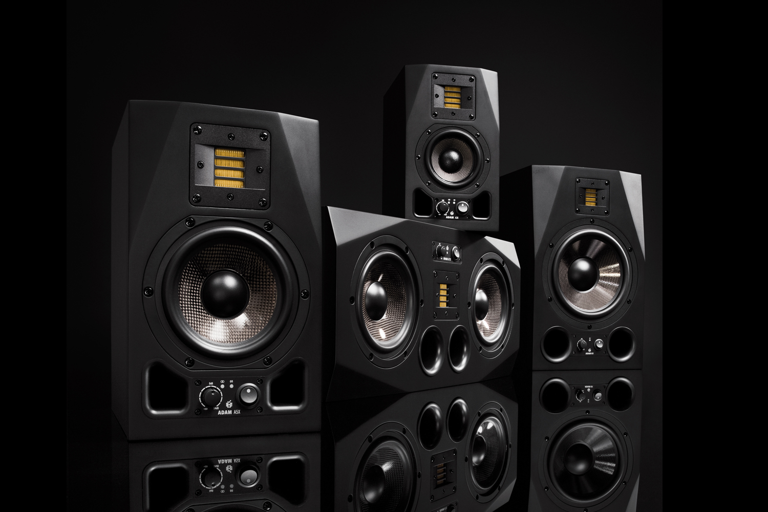 Higain Speaker Listening Amplifier Circuit Kit Aa5 Adam Audio High Precision Studio Monitors From Berlin Germany Ax Series