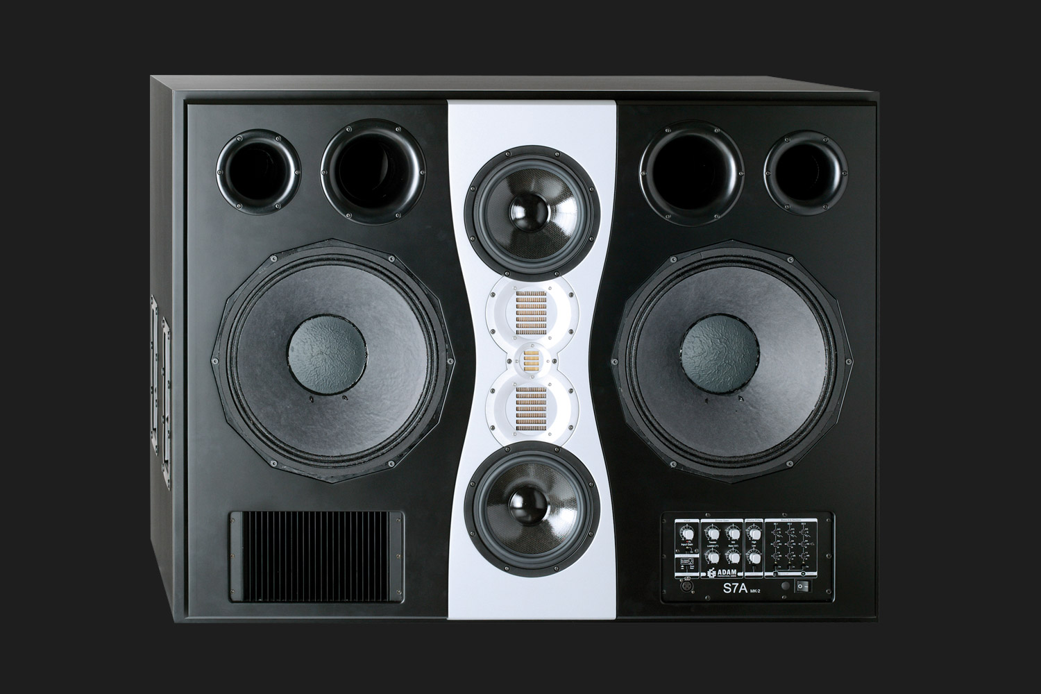Adam Audio S7a Mk2 Active Studio Monitor Main Pin Subwoofer Filter Crossover 11 90 Hz Frequency Circuit On Pinterest