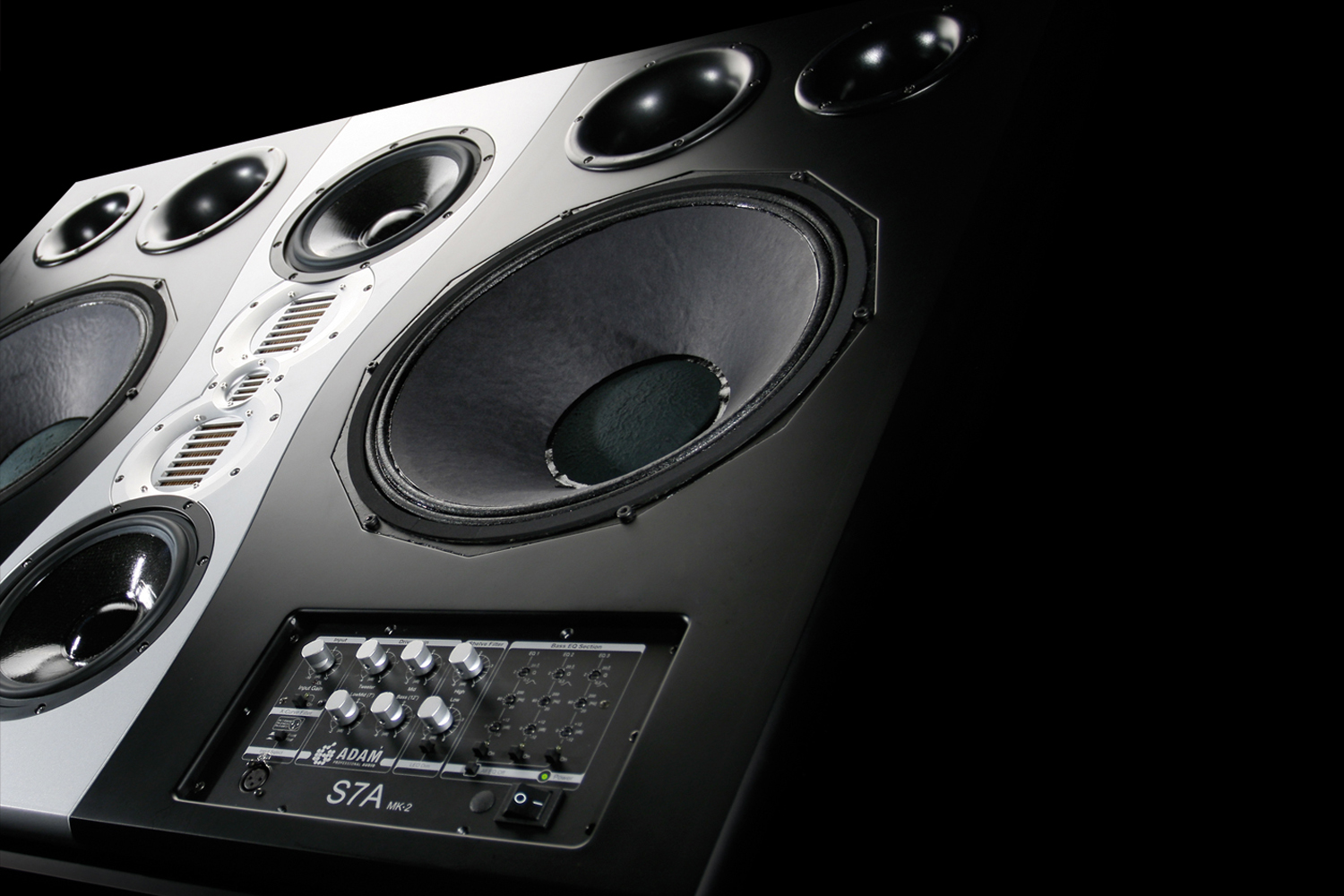 Adam Audio S7a Mk2 Active Studio Monitor Main Subwoofer Filter Crossover 11 90 Hz Frequency Circuit Free Picture