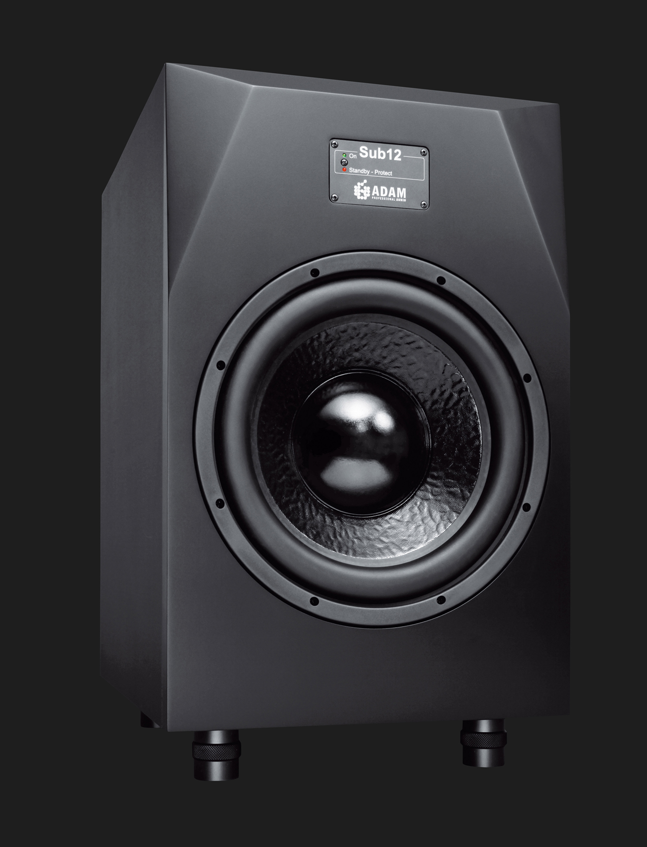Adam Audio Sub12 Active Subwoofer For Midfield Monitor Systems Crossover Electronic Design Front