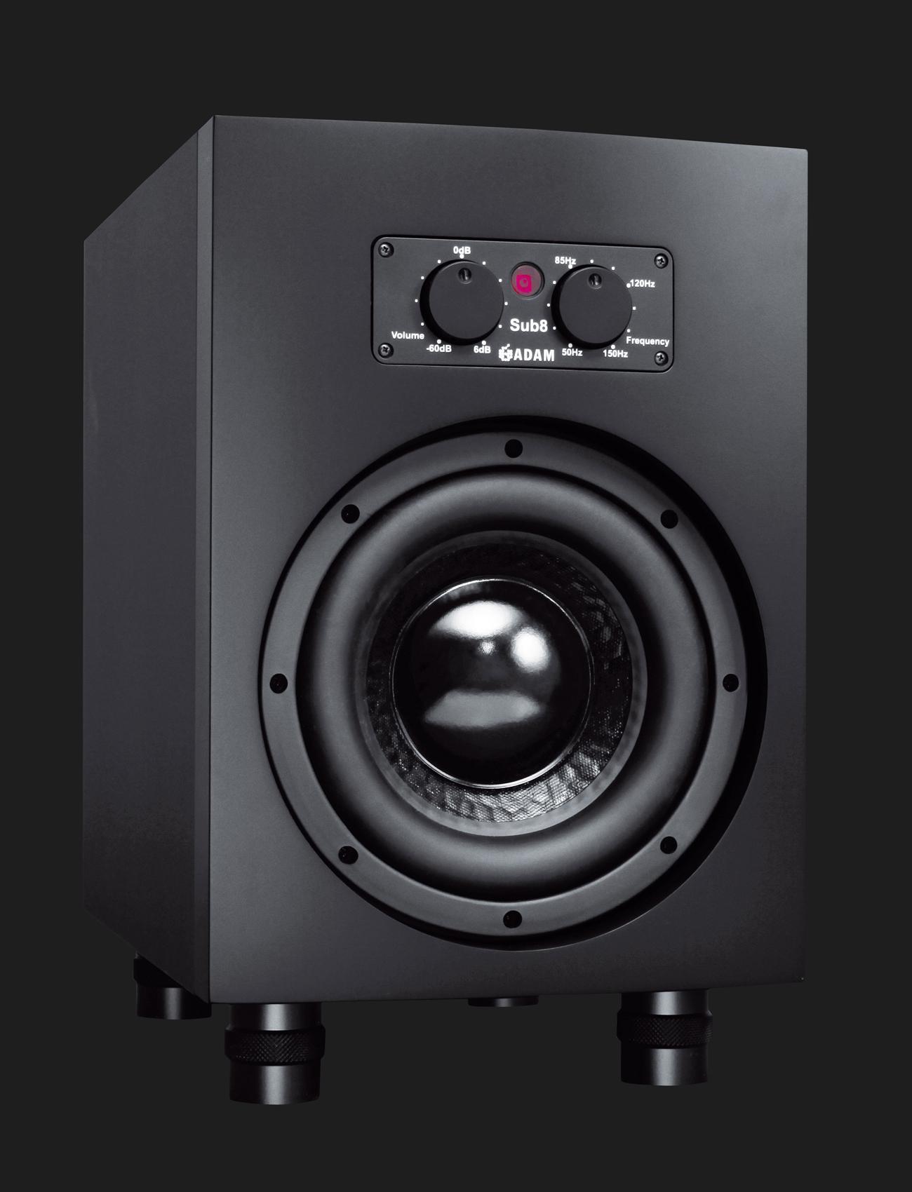 ADAM Audio - Sub8 Active Subwoofer For Smaller Studio Monitors