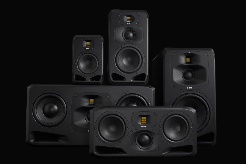 Adam Audio High Precision Studio Monitors From Berlin Germany Speaker Portable Pa Addons Bob 12 Inch 3 Mic Wireless Digital S Series Reference